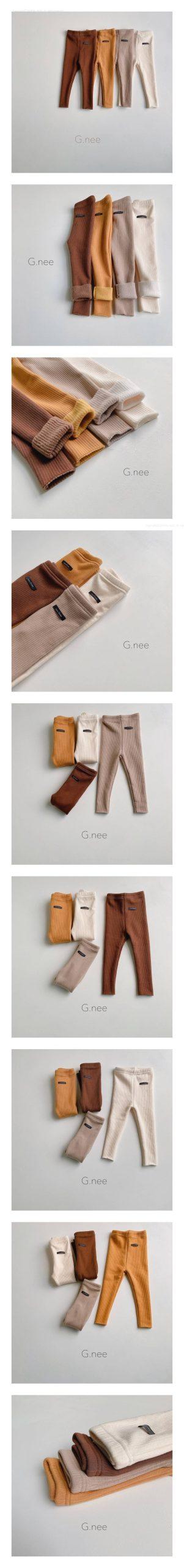 G.NEE - Korean Children Fashion - #Kfashion4kids - Gnee Mink Leggings