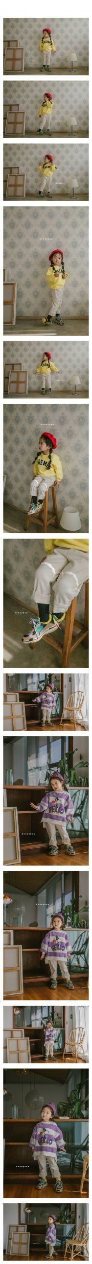 HONEYBEE - Korean Children Fashion - #Kfashion4kids - Cotton Span Pants