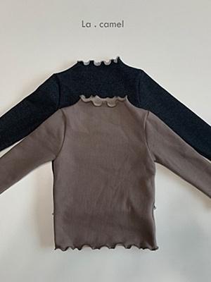 LA CAMEL - BRAND - Korean Children Fashion - #Kfashion4kids - Julie Turtleneck Tee
