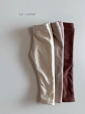 LA CAMEL - BRAND - Korean Children Fashion - #Kfashion4kids - Vitamin Twist Leggings
