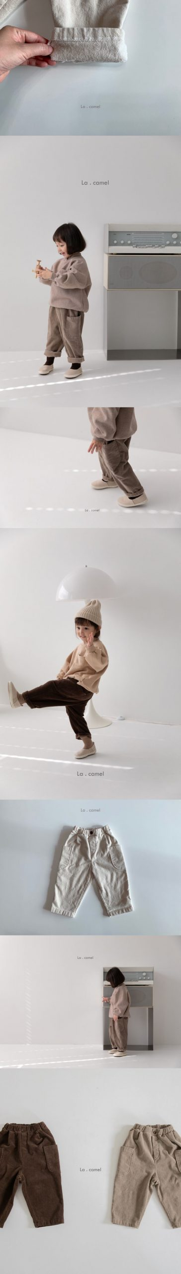 LA CAMEL - Korean Children Fashion - #Kfashion4kids - Miller Pants