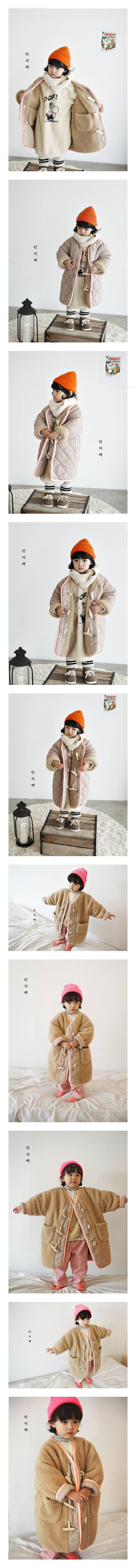 LUNCHPACK - Korean Children Fashion - #Kfashion4kids - Flanc Coat