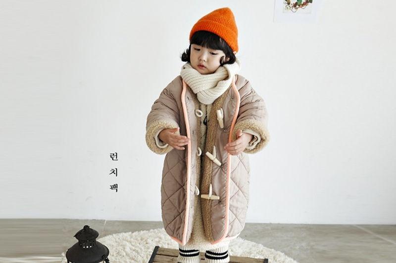 LUNCHPACK - BRAND - Korean Children Fashion - #Kfashion4kids - Flanc Coat