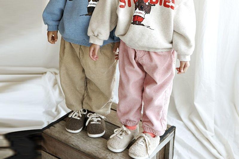 LUNCHPACK - BRAND - Korean Children Fashion - #Kfashion4kids - Pin Joker Corduroy Pants