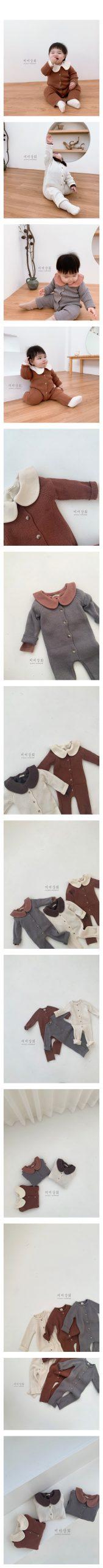MIMI MARKET - Korean Children Fashion - #Kfashion4kids - Rib Bodysuit