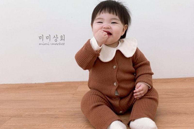 MIMI MARKET - BRAND - Korean Children Fashion - #Kfashion4kids - Rib Bodysuit