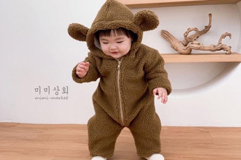 MIMI MARKET - BRAND - Korean Children Fashion - #Kfashion4kids - Bear Bodysuit