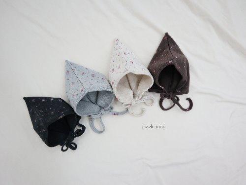 PEEKABOO - BRAND - Korean Children Fashion - #Kfashion4kids - Pink Floral Fairy Hat