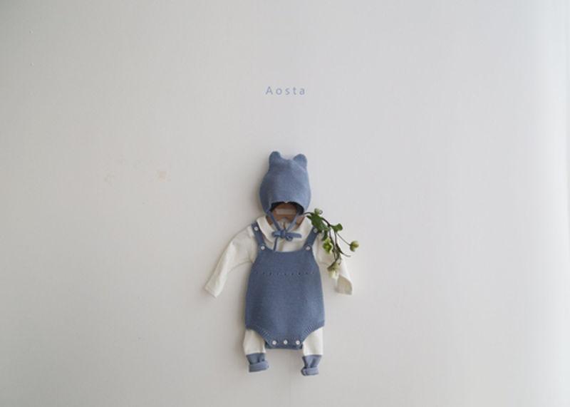 AOSTA - Korean Children Fashion - #Kfashion4kids - Bear Knit Hat - 6