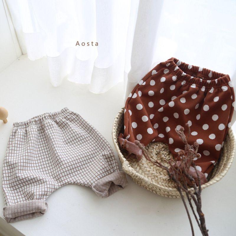 AOSTA - BRAND - Korean Children Fashion - #Kfashion4kids - Marong Pants