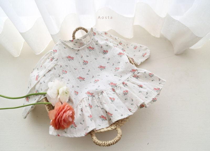 AOSTA - Korean Children Fashion - #Kfashion4kids - Garden Blouse