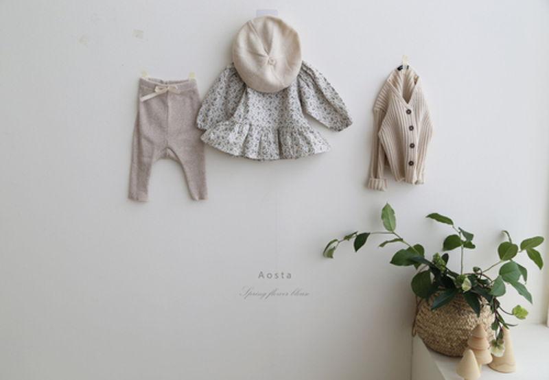 AOSTA - Korean Children Fashion - #Kfashion4kids - Garden Blouse - 10