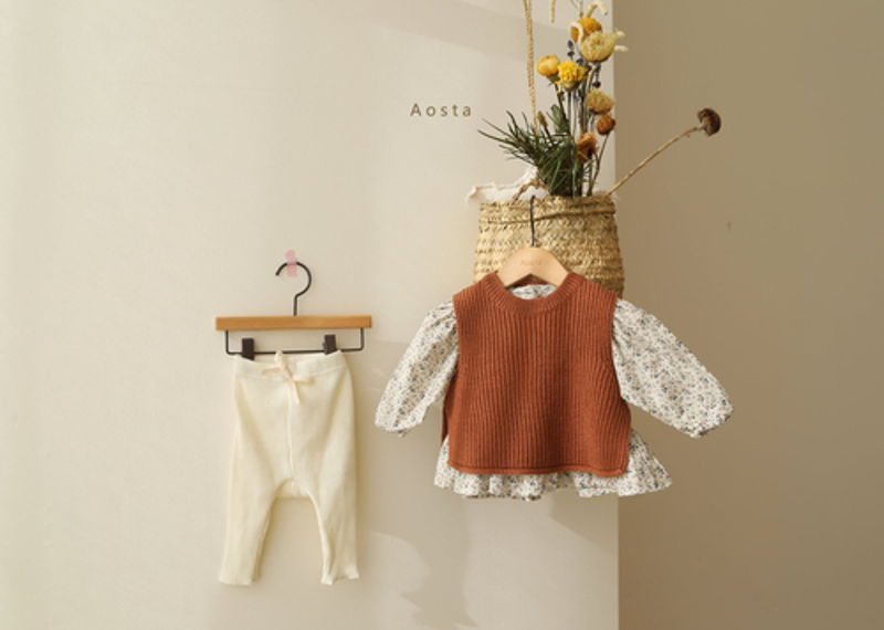 AOSTA - Korean Children Fashion - #Kfashion4kids - Garden Blouse - 11