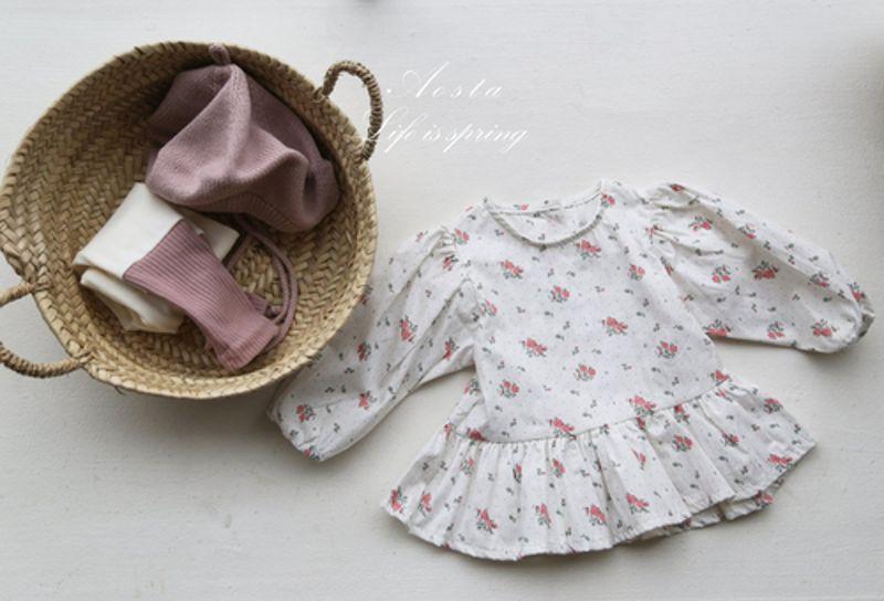 AOSTA - Korean Children Fashion - #Kfashion4kids - Garden Blouse - 2