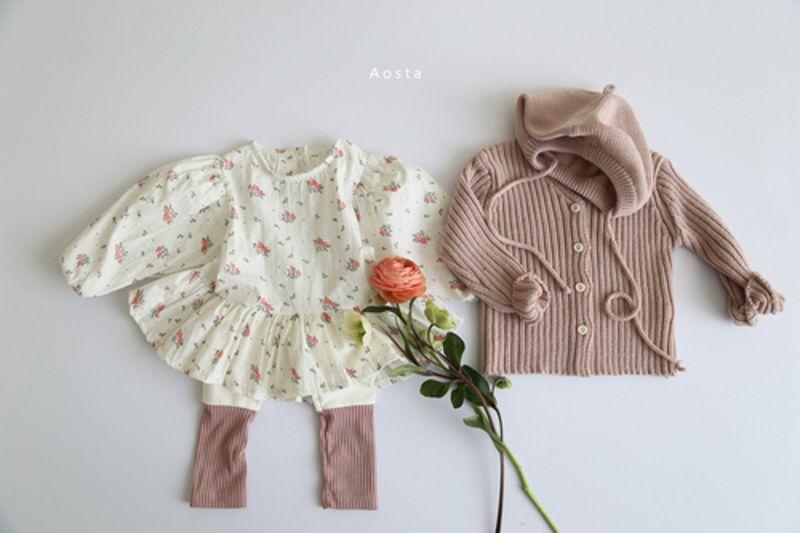 AOSTA - Korean Children Fashion - #Kfashion4kids - Garden Blouse - 4
