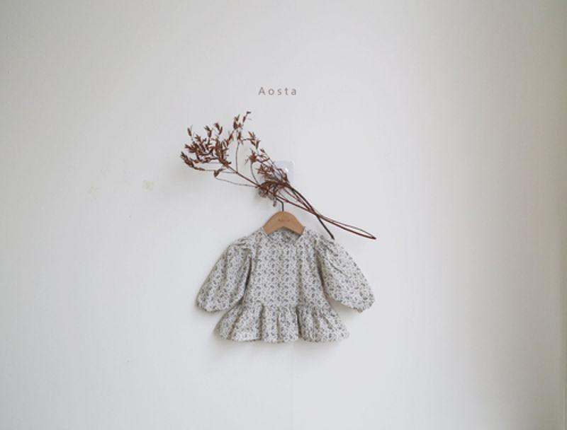 AOSTA - Korean Children Fashion - #Kfashion4kids - Garden Blouse - 5