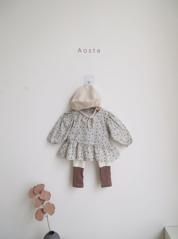 AOSTA - Korean Children Fashion - #Kfashion4kids - Garden Blouse - 7