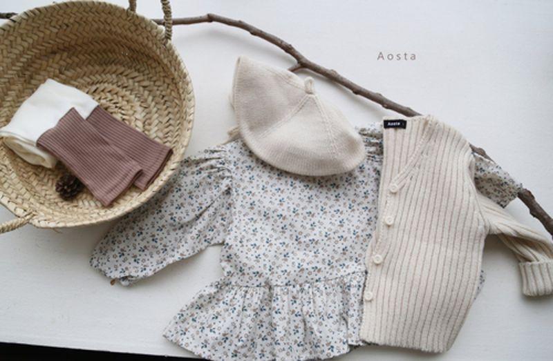 AOSTA - Korean Children Fashion - #Kfashion4kids - Garden Blouse - 8