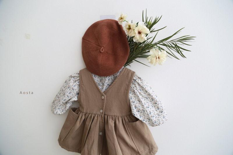 AOSTA - Korean Children Fashion - #Kfashion4kids - Garden Blouse - 9