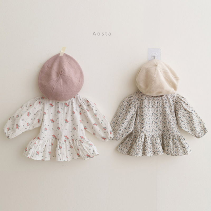 AOSTA - BRAND - Korean Children Fashion - #Kfashion4kids - Garden Blouse