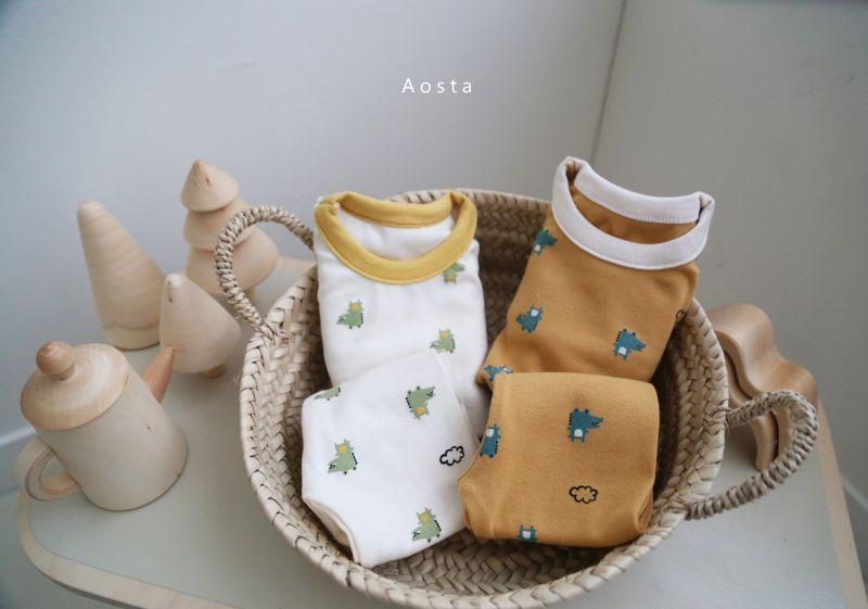 AOSTA - Korean Children Fashion - #Kfashion4kids - Baby Crocodile Easywear - 3