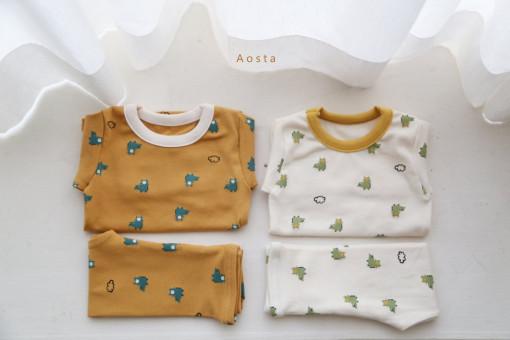 AOSTA - BRAND - Korean Children Fashion - #Kfashion4kids - Baby Crocodile Easywear