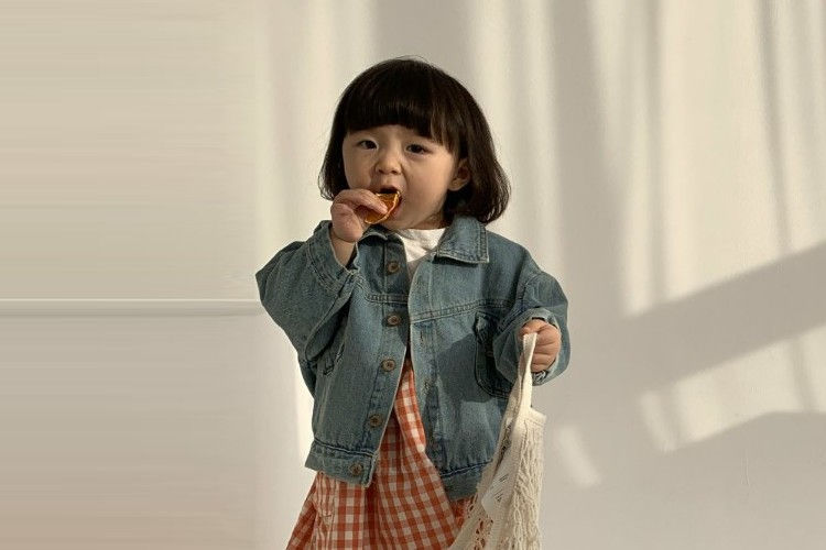 BELLA BAMBINA - BRAND - Korean Children Fashion - #Kfashion4kids - Denim Jacket