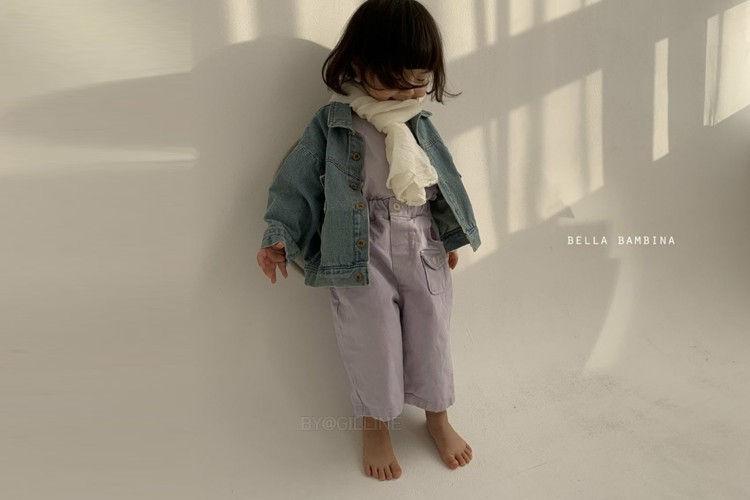 BELLA BAMBINA - BRAND - Korean Children Fashion - #Kfashion4kids - Pocket Pants