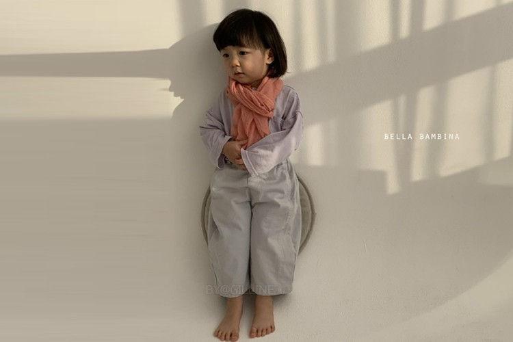 BELLA BAMBINA - BRAND - Korean Children Fashion - #Kfashion4kids - Round Incision Pants