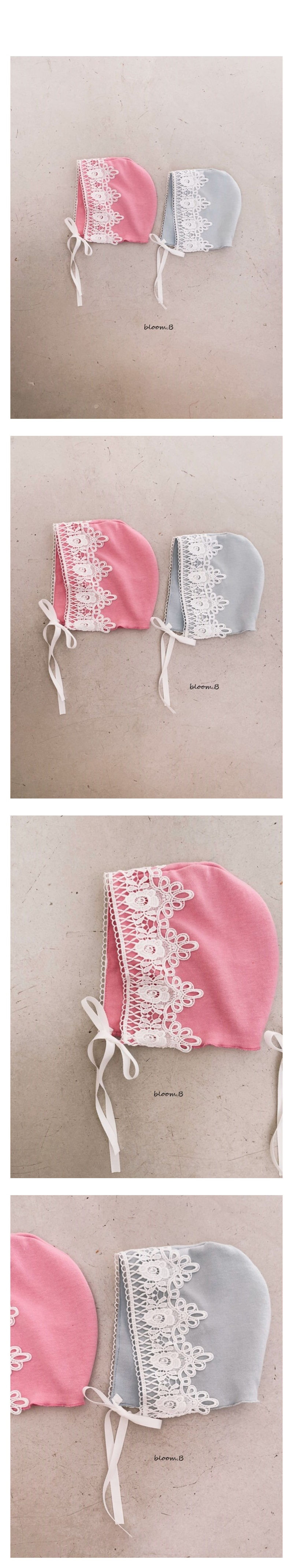BLOOM B - Korean Children Fashion - #Kfashion4kids - Tiara Bonnet