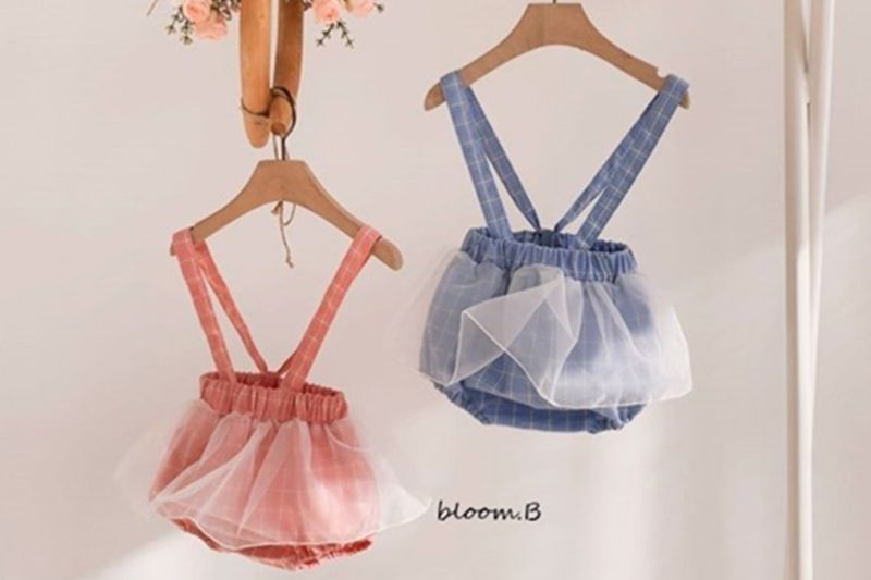 BLOOM B - BRAND - Korean Children Fashion - #Kfashion4kids - Chacha Suspender Bodysuit