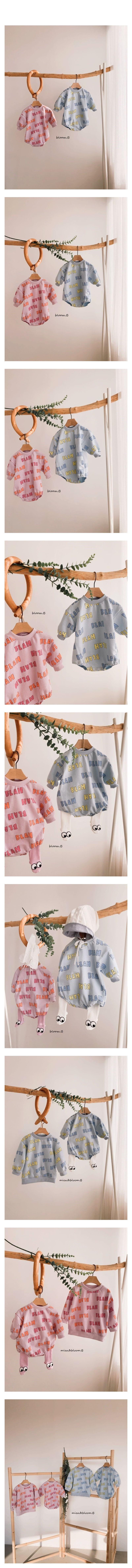 BLOOM B - Korean Children Fashion - #Kfashion4kids - Blabla Bodysuit