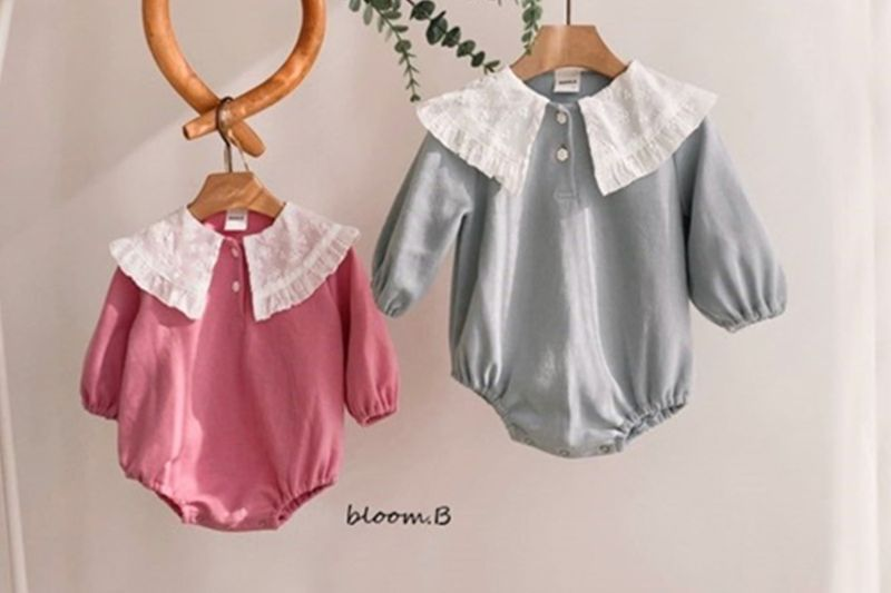 BLOOM B - BRAND - Korean Children Fashion - #Kfashion4kids - Dalla Lace Bodysuit