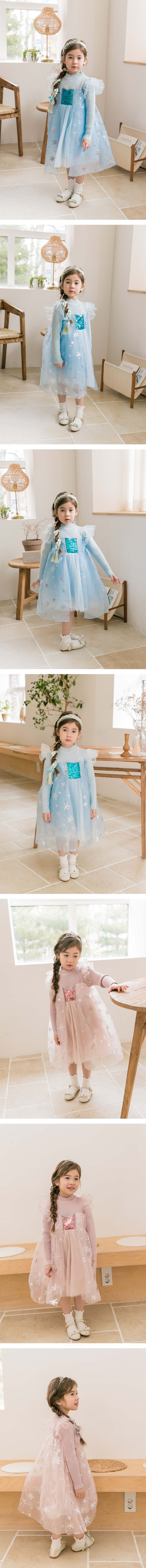 COCO RIBBON - Korean Children Fashion - #Kfashion4kids - Snow Flower Dress