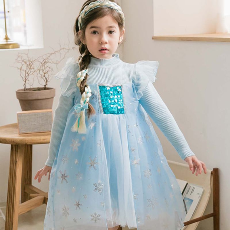 COCO RIBBON - BRAND - Korean Children Fashion - #Kfashion4kids - Snow Flower Dress
