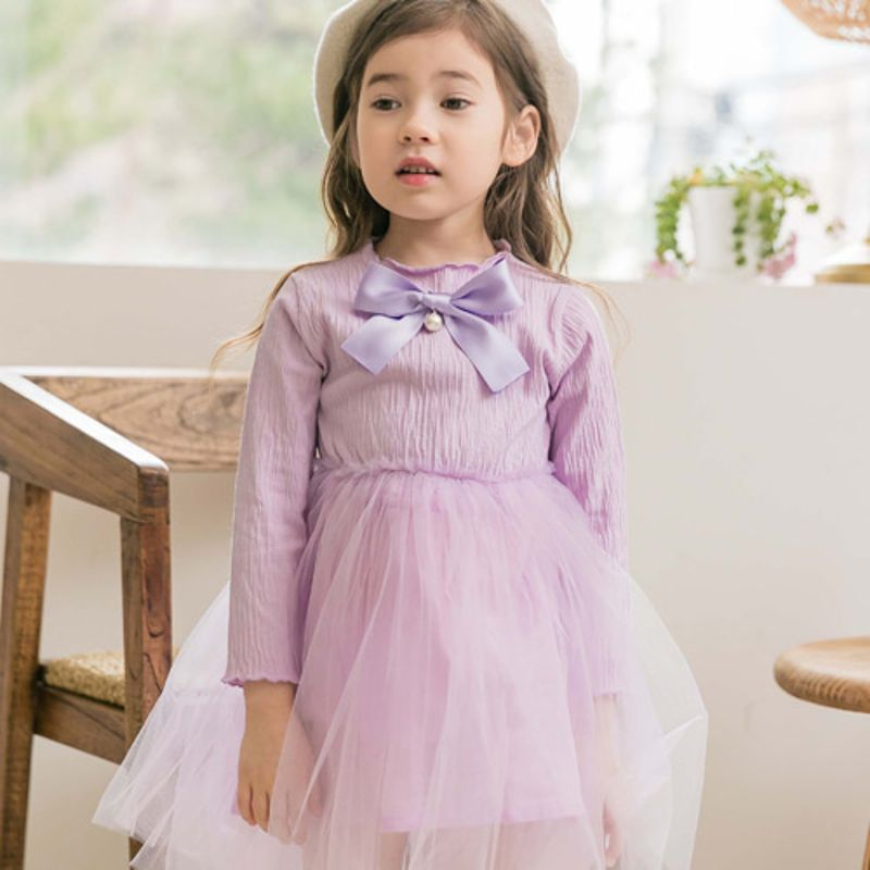 COCO RIBBON - BRAND - Korean Children Fashion - #Kfashion4kids - Ribbon One-piece