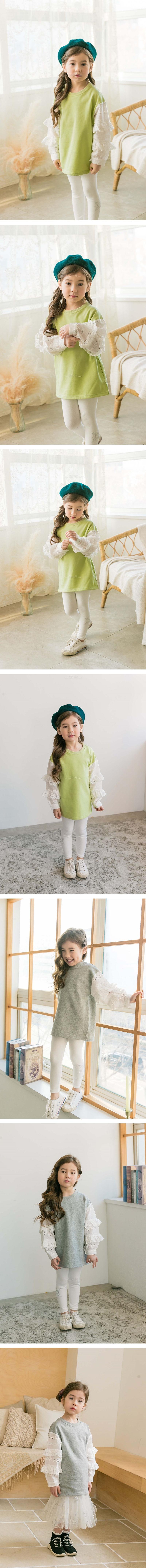 COCO RIBBON - Korean Children Fashion - #Kfashion4kids - Blouse Long Tee