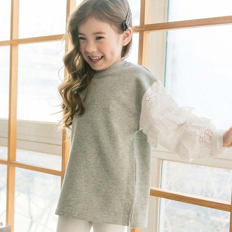 COCO RIBBON - BRAND - Korean Children Fashion - #Kfashion4kids - Blouse Long Tee