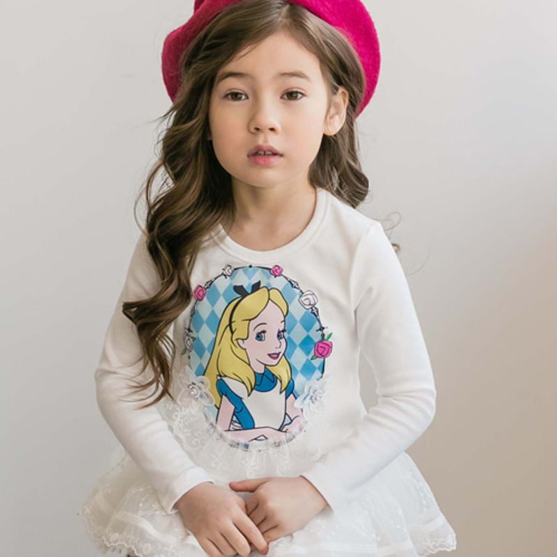 COCO RIBBON - BRAND - Korean Children Fashion - #Kfashion4kids - Alice Long Tee