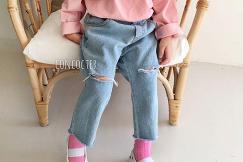 CONCOCTER - BRAND - Korean Children Fashion - #Kfashion4kids - Vintage Denim Pants