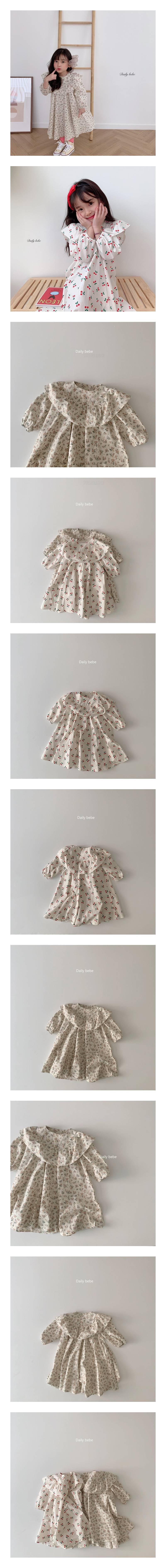 DAILY BEBE - Korean Children Fashion - #Kfashion4kids - Spring Spring Dress