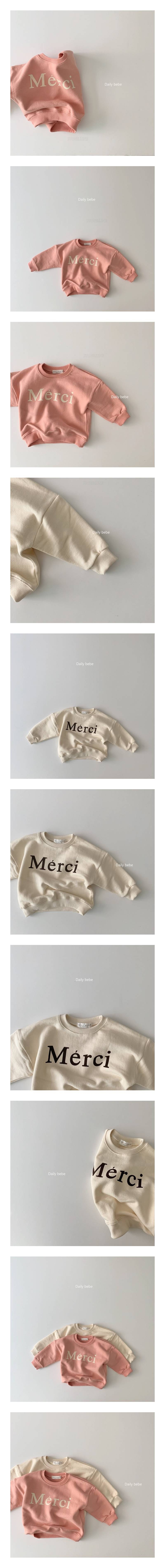 DAILY BEBE - Korean Children Fashion - #Kfashion4kids - Merci MtM T
