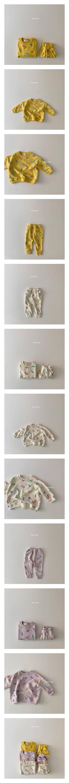 DAILY BEBE - Korean Children Fashion - #Kfashion4kids - Smile Set