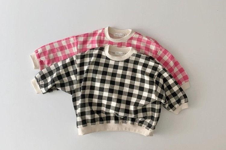 DAILY BEBE - BRAND - Korean Children Fashion - #Kfashion4kids - Check MtM T