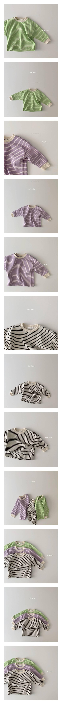 DAILY BEBE - Korean Children Fashion - #Kfashion4kids - Spring Stripe T