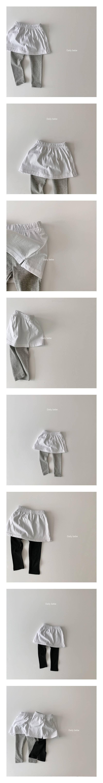 DAILY BEBE - Korean Children Fashion - #Kfashion4kids - Layered Leggings
