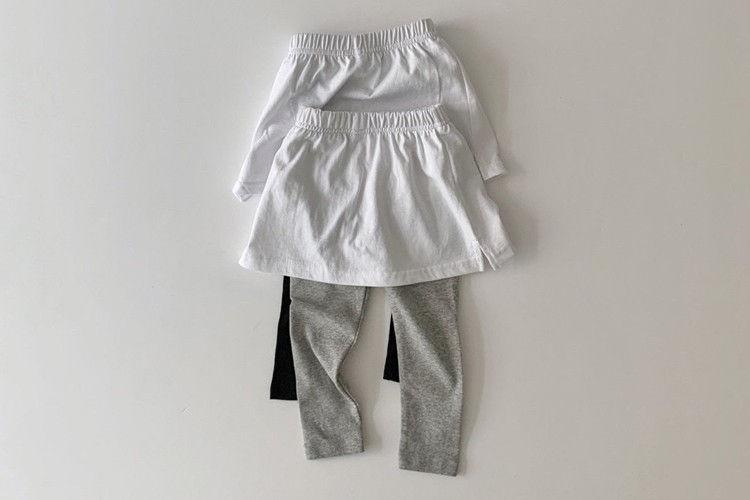 DAILY BEBE - BRAND - Korean Children Fashion - #Kfashion4kids - Layered Leggings