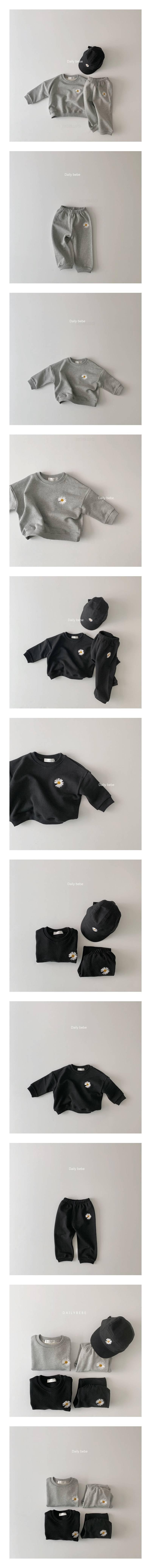 DAILY BEBE - Korean Children Fashion - #Kfashion4kids - Flower Set