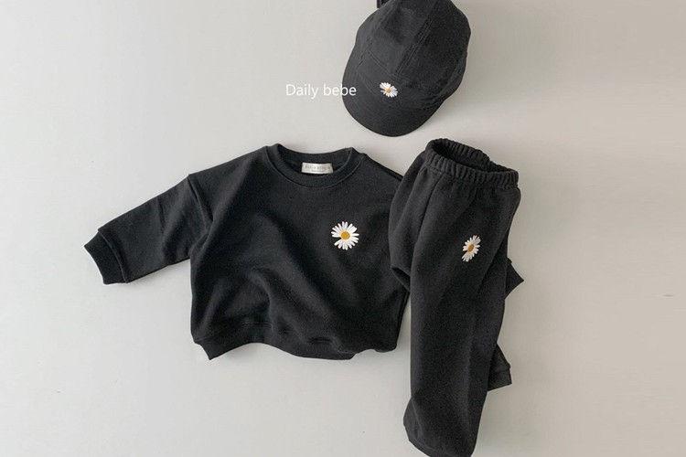 DAILY BEBE - BRAND - Korean Children Fashion - #Kfashion4kids - Flower Set