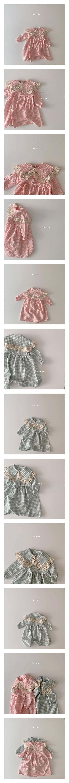 DAILY BEBE - Korean Children Fashion - #Kfashion4kids - Lace Dress
